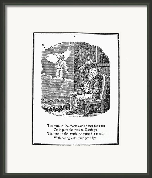 Man In The Moon, 1833 Framed Print By Granger