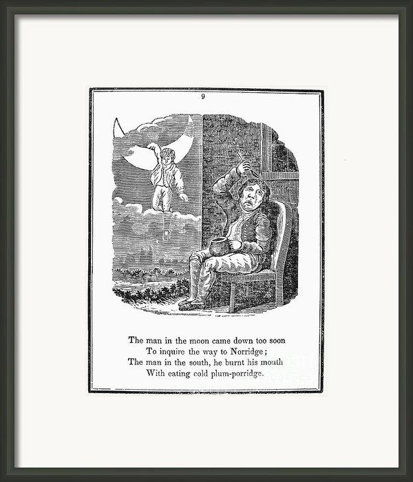 Man In The Moon, 1833 Framed Print By Granger