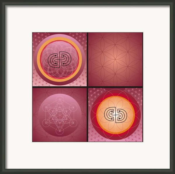 Mandala Framed Print By Johanna Virtanen