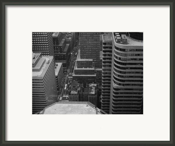 Manhattan Framed Print By Irina  March