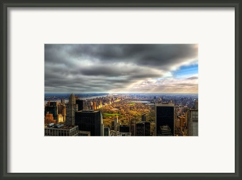 Manhattan04 Framed Print By Svetlana Sewell