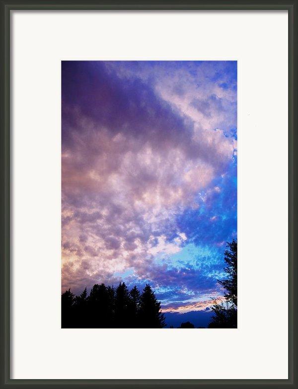 Marble Sky 2 Framed Print By Kevin Bone
