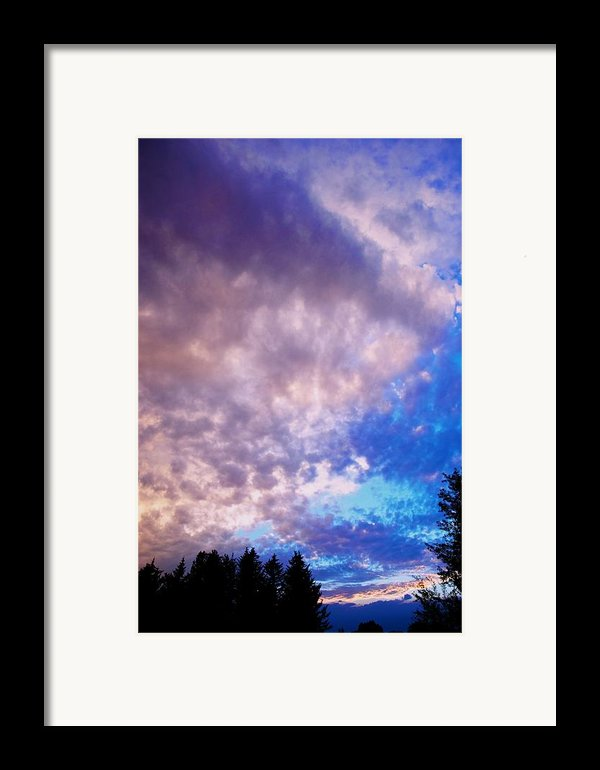 Marble Sky 2 Framed Print By Kevin Bone