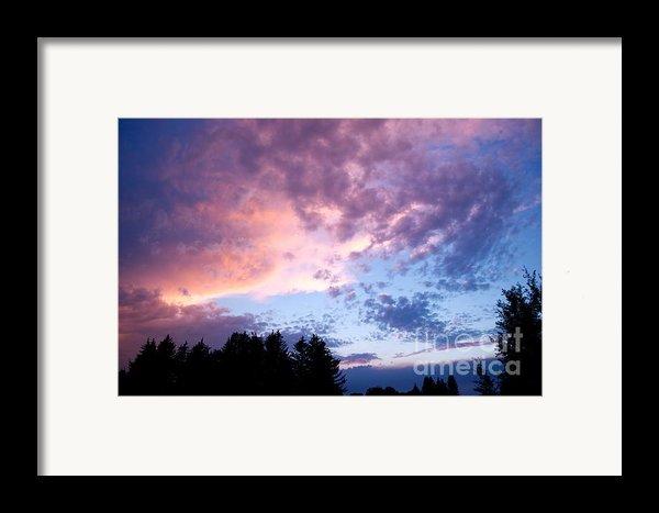 Marble Sky Framed Print By Kevin Bone