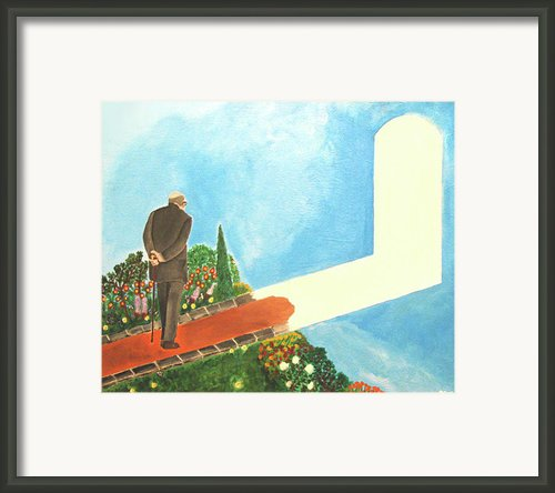 March Of Age Framed Print By Darren Stein