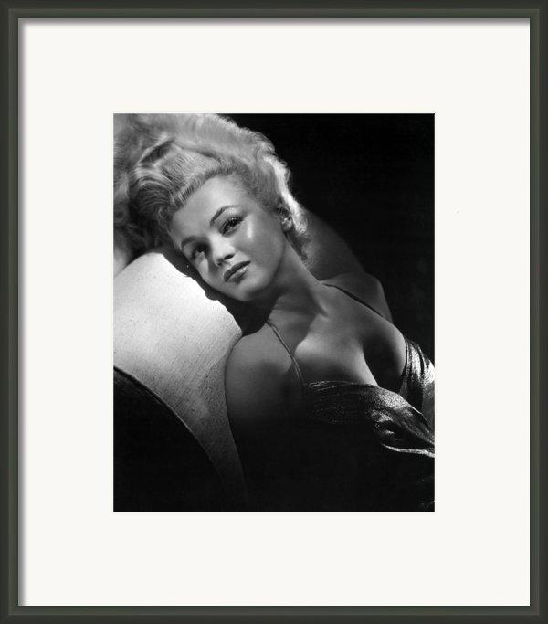 Marilyn Monroe, Ca. Early 1950s Framed Print By Everett