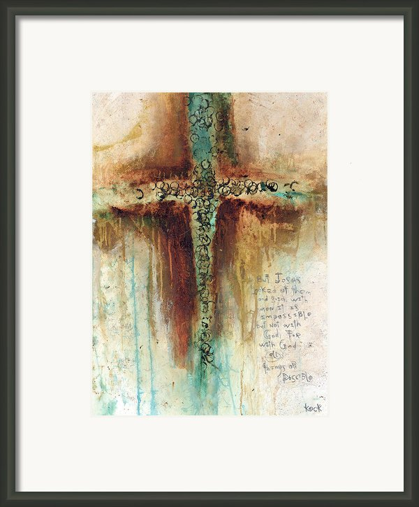 Mark 1027 Framed Print By Michel  Keck
