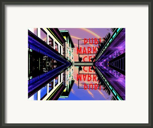 Market Entrance Framed Print By Tim Allen
