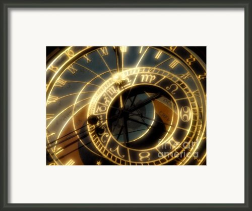 Marking Time Framed Print By Ann Garrett