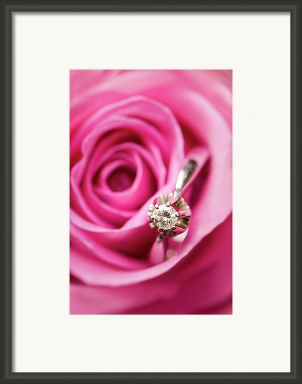 Marriage Proposal Framed Print By Elias Kordelakos Photography
