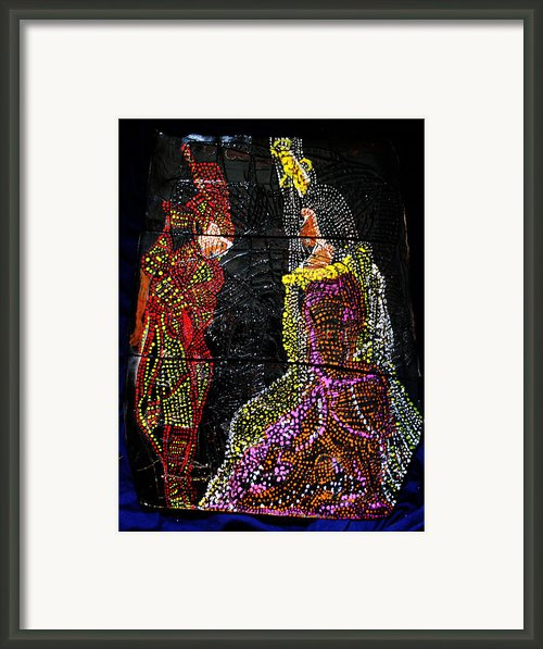 Martha And Mary Of Bethany Framed Print By Gloria Ssali
