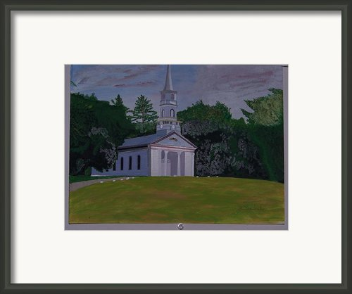 Martha Mary Chapel Framed Print By William Demboski