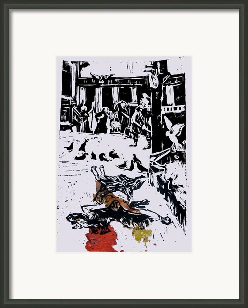 Martyr 1 Framed Print By Adam Kissel
