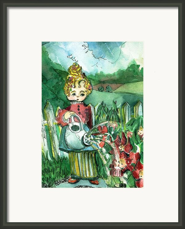 Mary Mary Framed Print By Mindy Newman