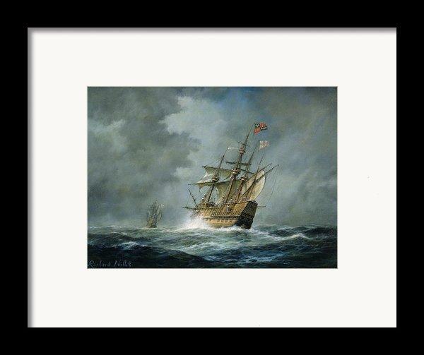Mary Rose  Framed Print By Richard Willis