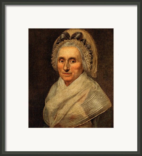 Mary Washington - First Lady  Framed Print By International  Images