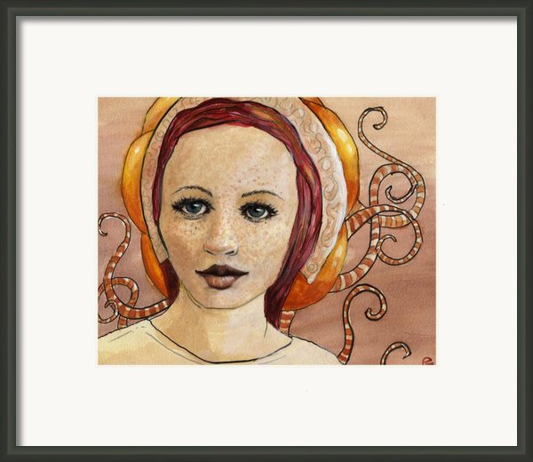Mascara Framed Print By Ethan Harris