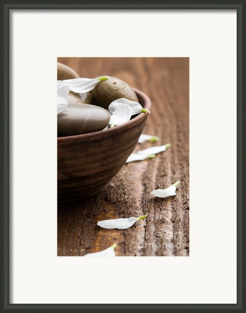 Massage Stones  Framed Print By Kati Molin