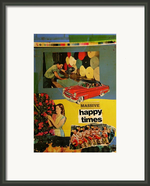 Massive Happy Times Framed Print By Adam Kissel