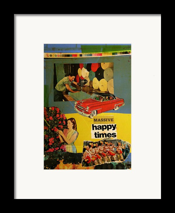 Massive Happy Times Framed Print By Adam Kissel
