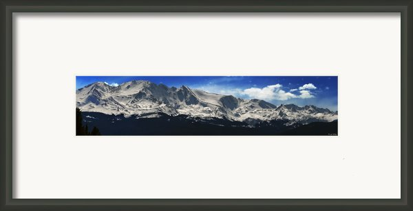 Massive View Framed Print By Darryl Gallegos