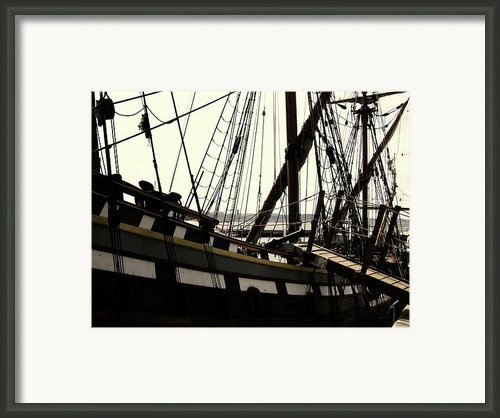 Master And Commander V2 Framed Print By Douglas Barnard
