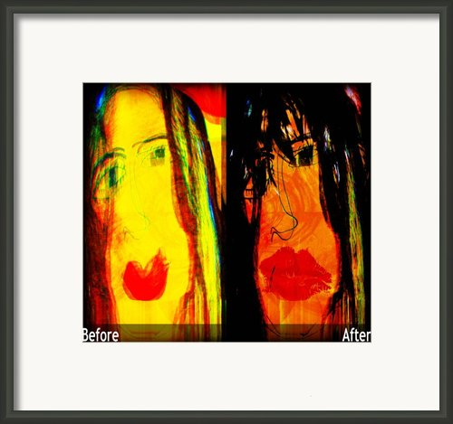 Mastering Myself Framed Print By Fania Simon
