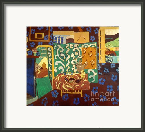 Matisse: Interior, 1911 Framed Print By Granger