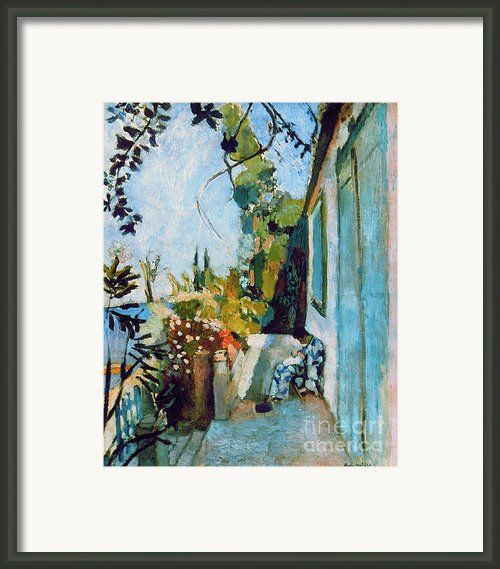 Matisse Terrace 1904 Framed Print By Granger
