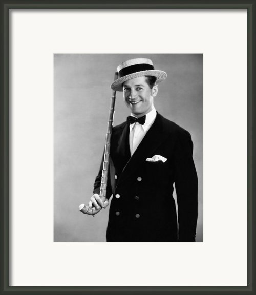 Maurice Chevalier, 1930 Framed Print By Everett