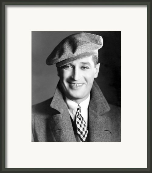 Maurice Chevalier, Ca. 1930 Framed Print By Everett