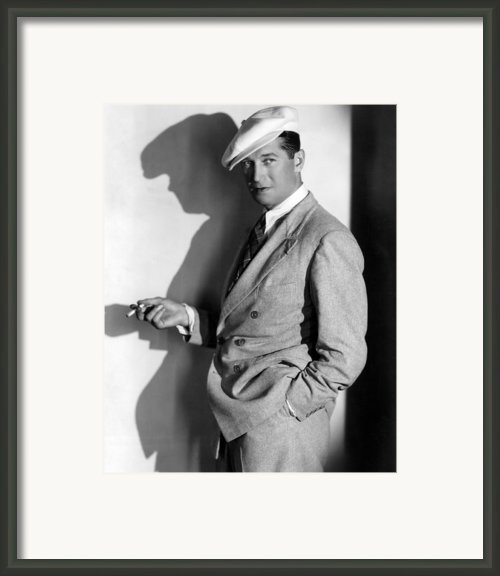 Maurice Chevalier, Ca. 1930s Framed Print By Everett