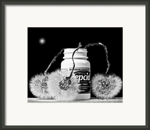 Maxamum Strength Framed Print By Bob Orsillo
