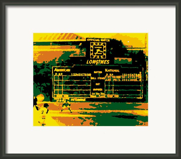 Maz World Series Homer Framed Print By Ron Regalado