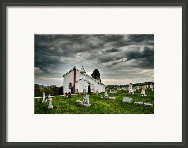 Mcelwee Chapel Series Ii Framed Print By Kathy Jennings