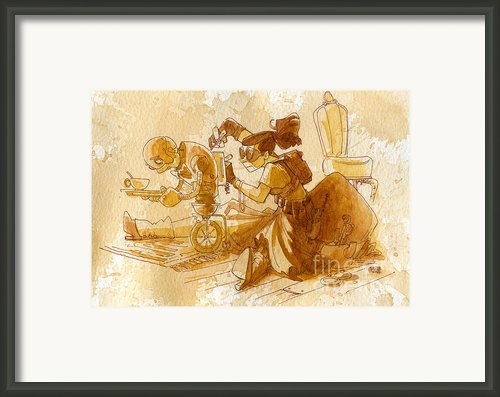 Mechanic Framed Print By Brian Kesinger