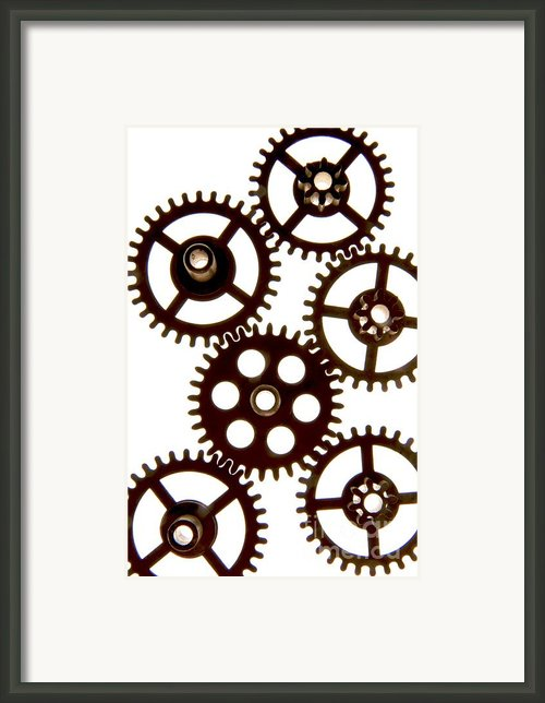 Mechanism Framed Print By Bernard Jaubert