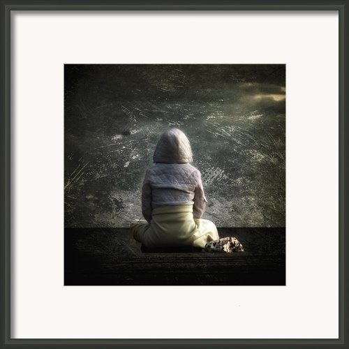 Meditation Framed Print By Stylianos Kleanthous