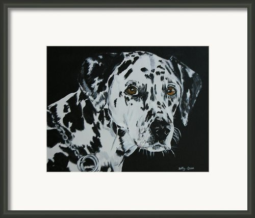Meet Annie Framed Print By Betty-anne Mcdonald