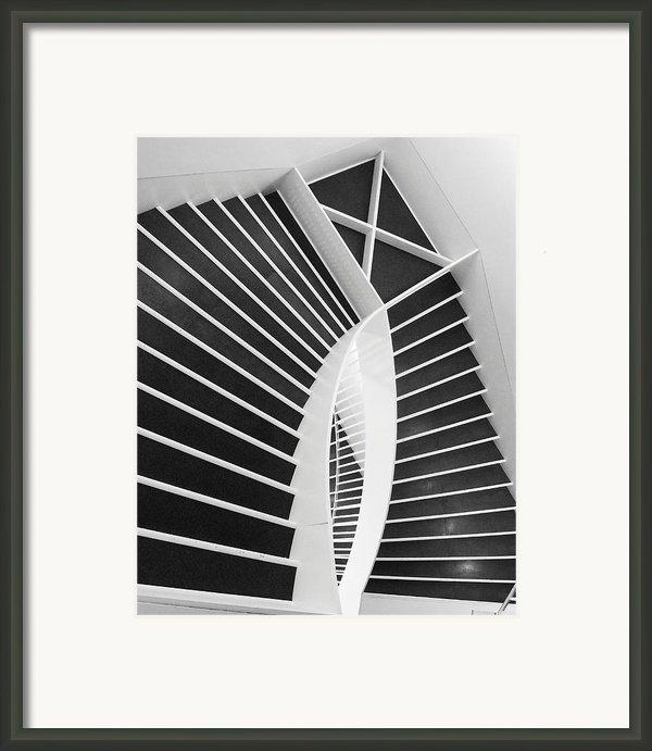 Meet Me Under The Stairs Framed Print By Anna Villarreal Garbis