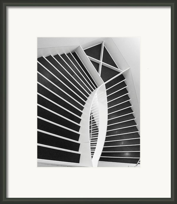 Meet Me Under The Stairs Framed Print By Anna Villarreal Garbis