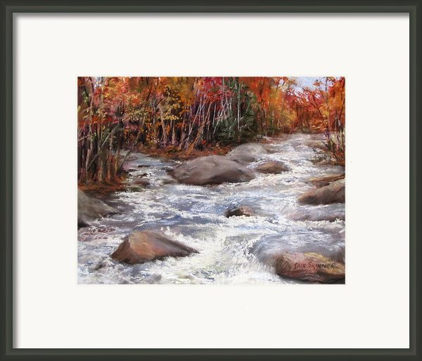 Meeting Of The Waters Framed Print By Jack Skinner
