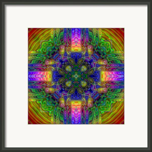 Melted Framed Print By Lyle Hatch