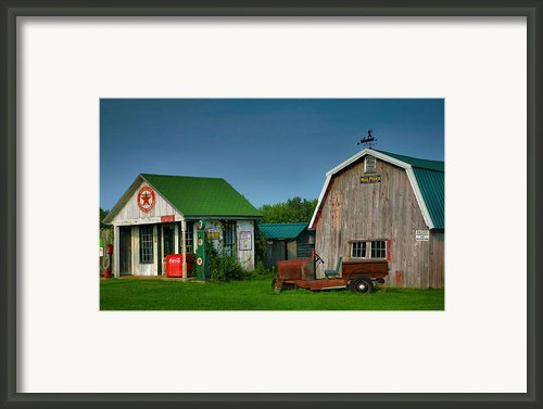 Mementos From The Past I Framed Print By Steven Ainsworth