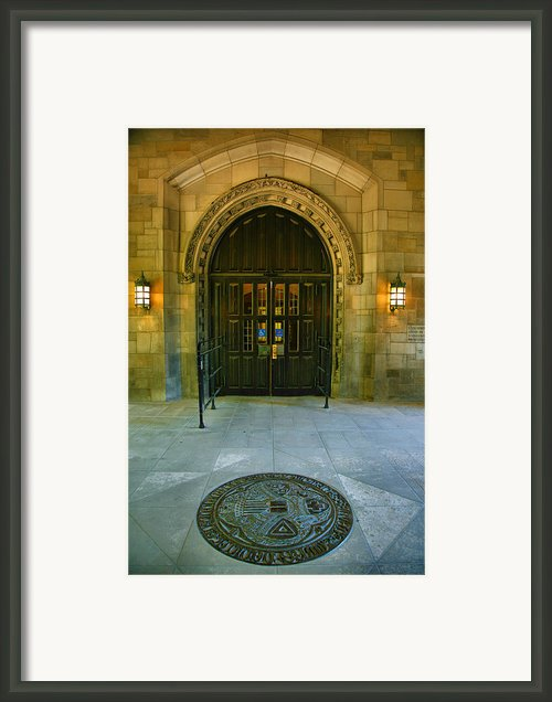 Memorial Hall I Framed Print By Steven Ainsworth