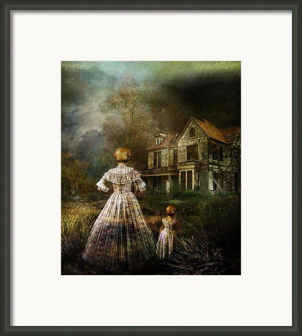 Memories Framed Print By Karen H