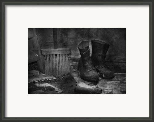 Men At Work Framed Print By Jerry Cordeiro