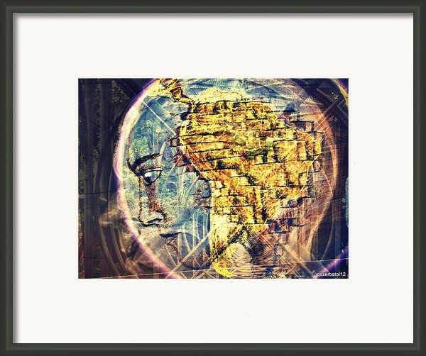 Mental Construction Framed Print By Paulo Zerbato