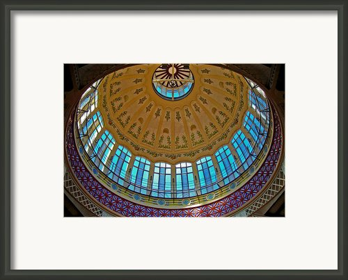 Mercado Central - Valencia Framed Print By Juergen Weiss
