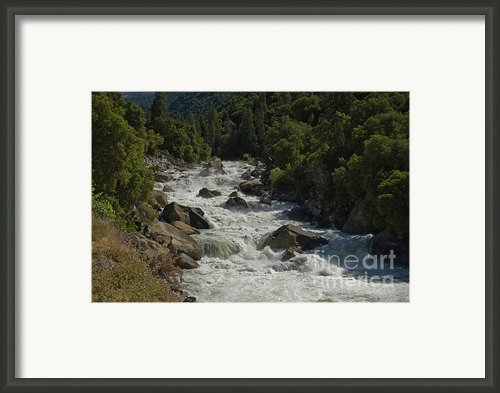 Merced River In Yosemite Framed Print By Tim Mulina